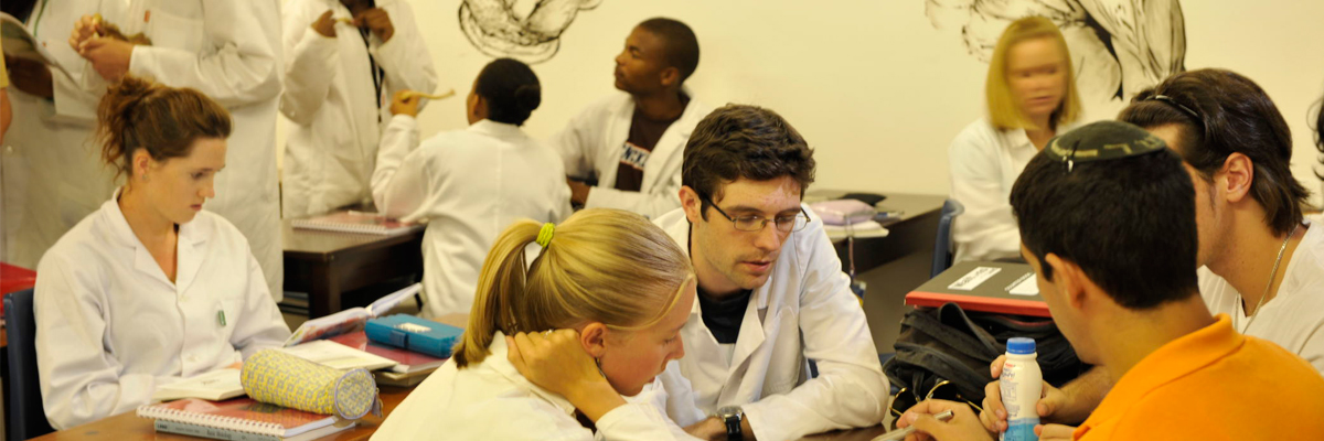 Wits health sciences students on campus