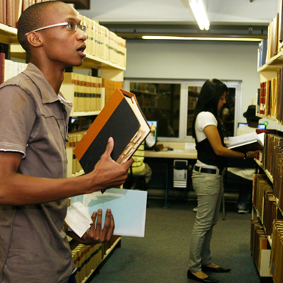 Students in Law Library