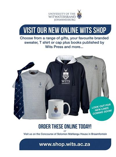 Wits Shop advertisement