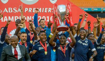 Bidvest Wits, PSL Champions 2017, copyright: Gallo Images
