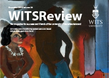 Cover of December 2016 issue of Wits Review