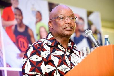 Guest speaker Sipho Pityana at Founders' Tea 2017