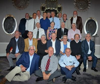 The Class of 1967 at the 2017 Wits Health Sciences Faculty reunion