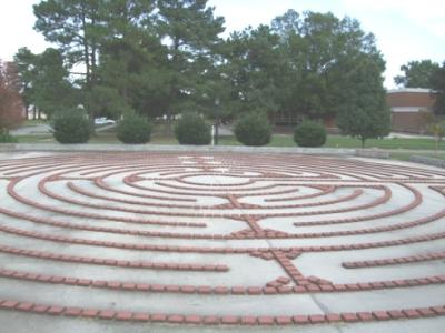 Labyrinth at Eastern State Hospital in Williamsburg, VA (USA)