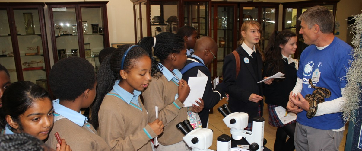 Learners get to view life through microscopes