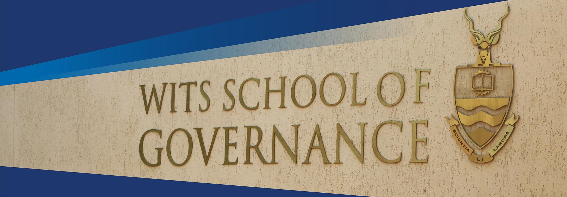 Wits School of Governance - Wits University