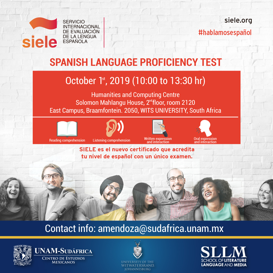 SIELE proficiency test October 2019