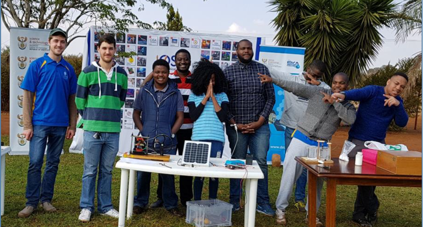 Wits team takes Physics to Venda