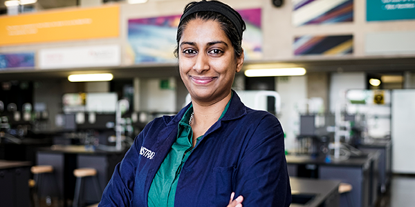 Dr Mathura has been awarded for her outstanding research and will be representing the element Cobalt in IUPAC Periodic Table of Younger Chemists. At the time of the award she was the first woman from Africa, as well as the first South African to receive this award. Image credit Lauren Mulligan