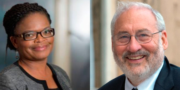 Human rights lawyer Beatrice Mtetwa and Nobel laureate Joseph Stiglitz are keynote speakers at #GIJC17