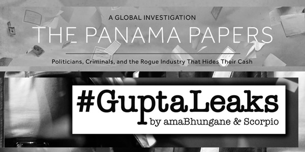 How to ethically report on big data leaks such as #GuptaLeaks and #PanamaPapers.