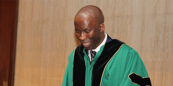 Professor Leketi Makalela at his inaugural lecture