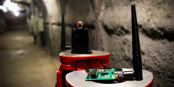 The Wits Mining Institute and partners are developing wireless sensory network technology is being developed to locate missing miners trapped underground who are otherwise unable to communicate.