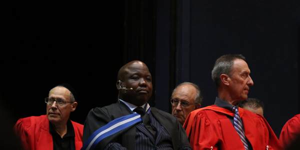 Mosa Mabuza, Wits alumnus and Chief Executive Officer of the Council of Geosciences