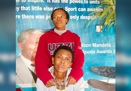 Nonkululeko Ngejane and Nana Mashego are delighted to be advancing their studies.