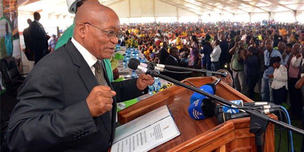 President Jacob Zuma. © GovernmentZA_flickr.com