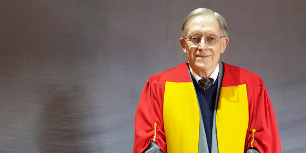 Wits University conferred a Doctor of Medicine honoris causa on Professor Peter Eiddon Cleaton-Jones.