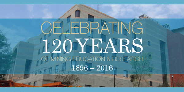 School of Mining Engineering 120 year celebration