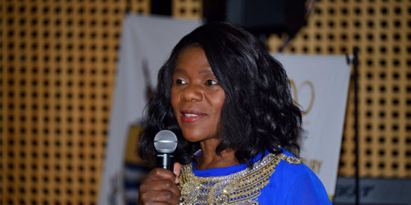 Advocate Thuli Madonsela speaking at an alumni networking event at Wits