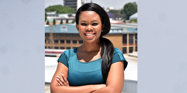 Wits graduate Vuyisile Zondi and founder of Corium Skincare