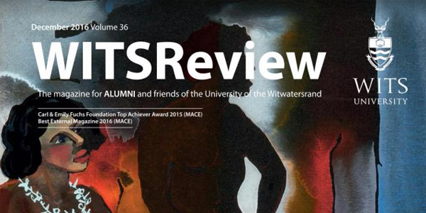 WITSReview, magazine produced by Wits Alumni.