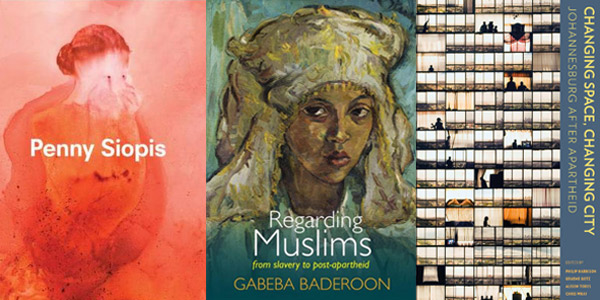 Wits Press winners in the Humanities and Social Sciences Book Awards.