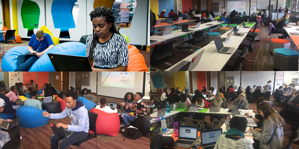 The eZone is a high-tech flexible teaching and learning space on Wits Education Campus to advance eLearning.
