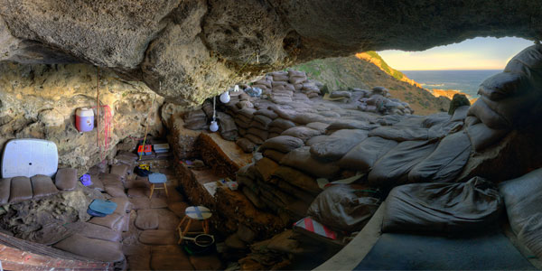 Blombos Cave entrance. Picture by Magnus Haaland.