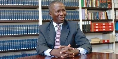 Wits Chancellor, Deputy Chief Justice Dikgang Moseneke
