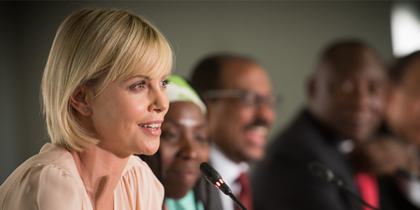 South African actor, Charlize Theron, opens the 2016 International Aids Conference in Durban, South Africa