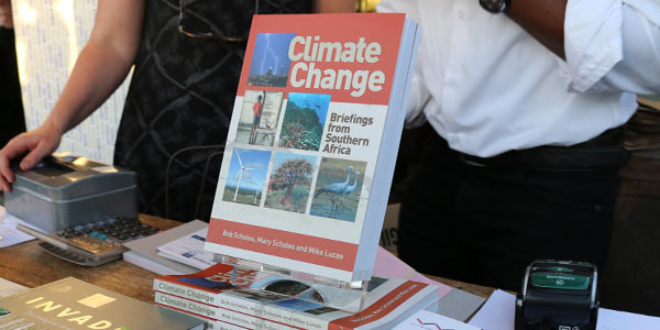 Climate book launch at the Circa Gallery