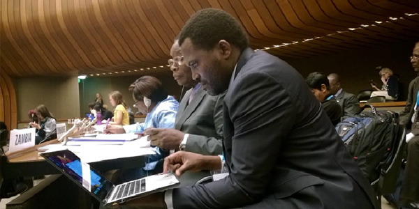 Dr Emmanuel Makasa Counsellor Health Permanent Mission of Zambia to UN