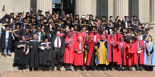 Graduation at Wits of 2016 cohort of SA doctors trained in Cuba