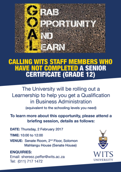 Business Administration Learnership