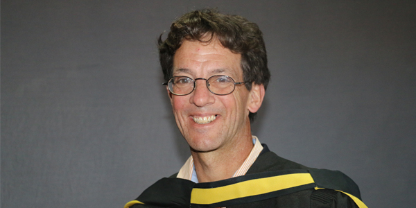 Mark Heywood poses questions to Wits graduates