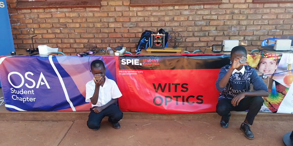 Learners at Mukula High School in Venda during National Science Week