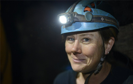 National Geographic Emerging Explorer Marina Elliott. Image copyright: National Geographic