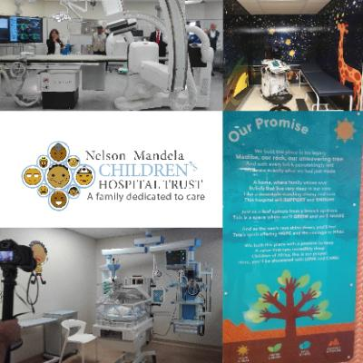 Interior of Nelson Mandela Children's Hospital