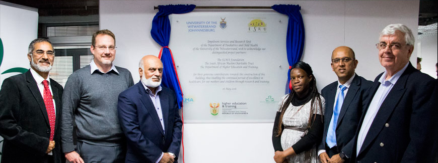 The new clinic in the Empilweni Services and Research Unit recently opened in the Rahima Moosa Mother and Child Hospital.