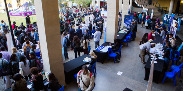 Postgraduate Recruitment Fair, Wits Science Stadium