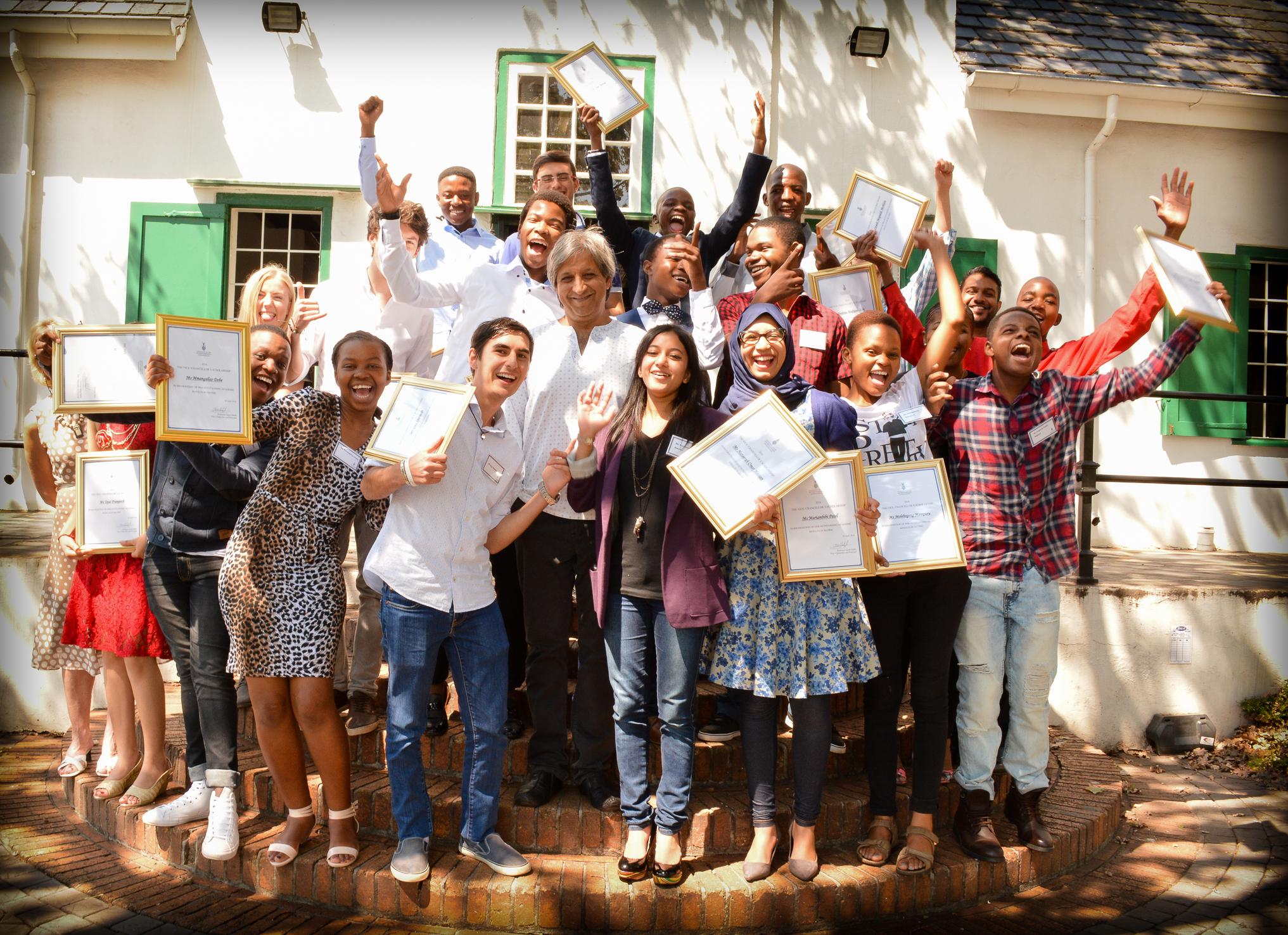 Proud SA lady wins Mandela100scholarship to top African university
