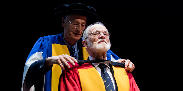 Professor Beric Skews awarded with an honorary doctorate degree