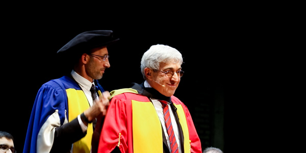 Stanley Bergman receives honorary doctorate from Wits