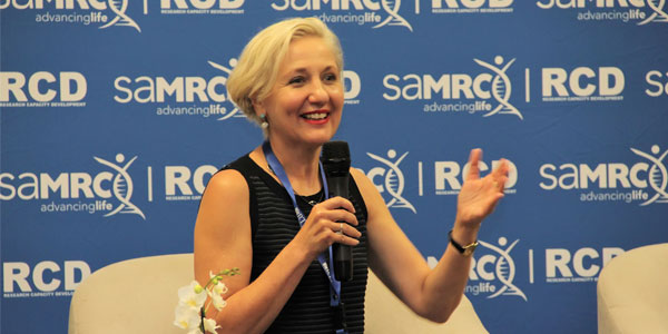 Professor Glenda Gray, President and CEO of the South African Medical Research Council.