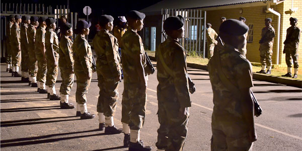 Soldiers of the SANDF deployed as part of the security services during the COVID-19 pandemic ©GovernmentZA/Flicr