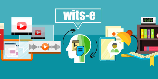Wits-e, our online learning management platform for lecturers and students.