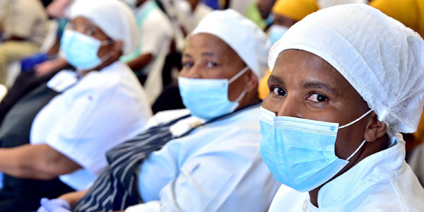 Face masks are crucial preventing infections during COVID-19 pandemic ©GovernmentZA/Flickr