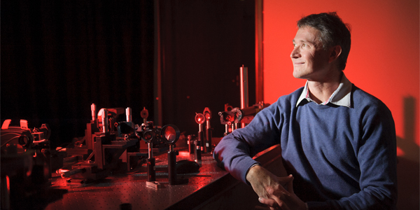 Andrew Forbes is a Distinguished Professor i the Wits School of Physics and Head of the Structured Light Laboratory