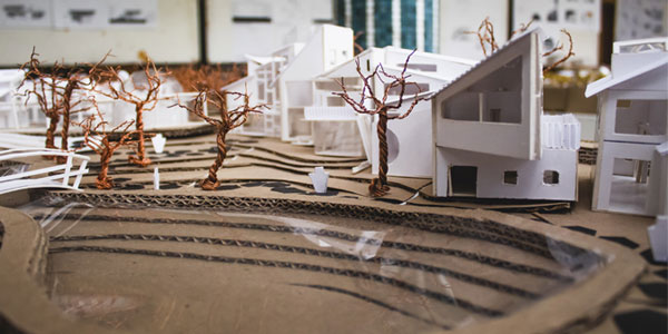 Utopian Village, designed  in 2018 by first-year students from the School of Architecture   and Planning| www.wits.ac.za/curiosity/