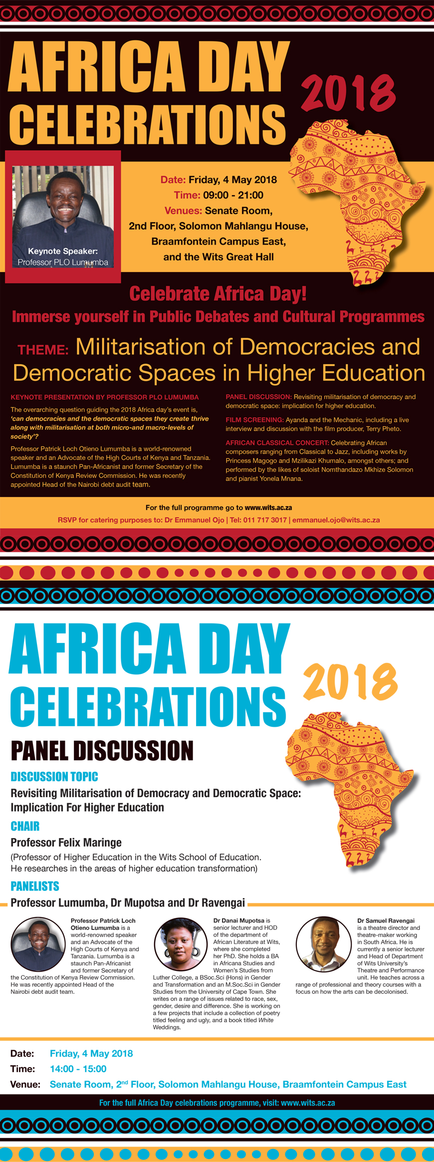 Africa Day 2018 Talks
